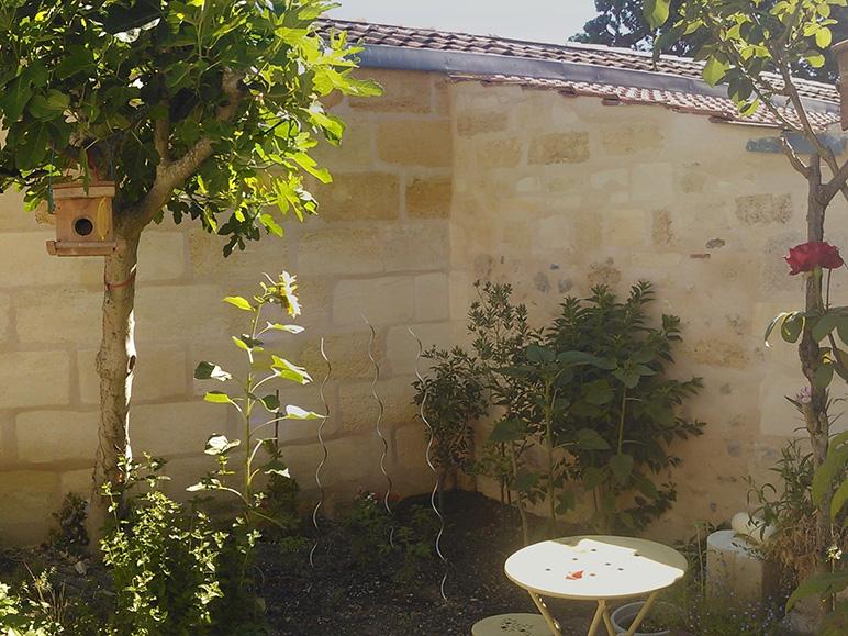 Rénovation échoppe jardin résultat final