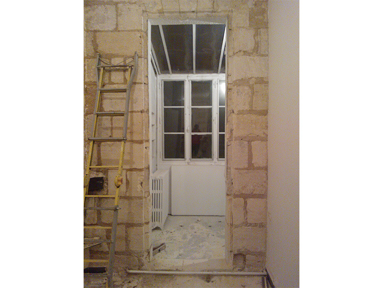 Echoppe interieur veranda
