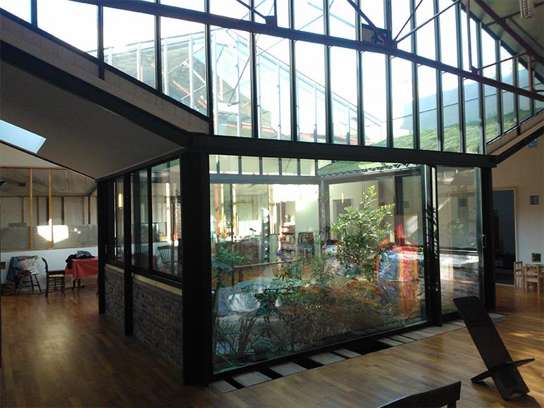 Loft cour interieure vue externe