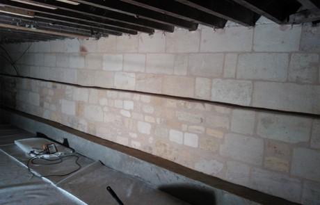Rénovation echoppe souplex mur entier